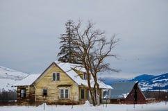 Fattoria di Sun Valley Idaho: Aprendo la strada nel presente immagini stock libere da diritti