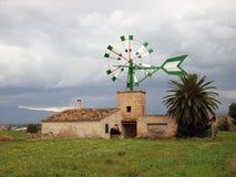 Fattoria in Majorca Fotografie Stock Libere da Diritti