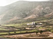 Fattoria tradizionale spagnola storica sulle isole Canarie Immagine Stock