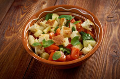 Fattoush - Lebanese Salad Royalty Free Stock Images