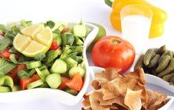 Fattoush - Libanese Salade Stock Foto