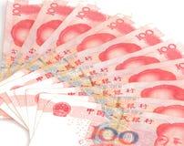 Fattura cinese del rmb di yuan di valuta Immagine Stock