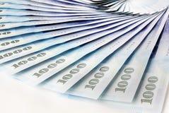 Fattura del dollaro di 1000 nuova Taiwan Fotografia Stock Libera da Diritti