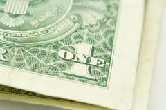 Fattura del dollaro di Stati Uniti. Fotografia Stock Libera da Diritti