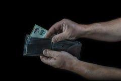 Fattura del peso argentino di cinquecento Fotografie Stock Libere da Diritti