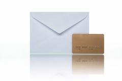 Fattura di carta di credito Immagini Stock Libere da Diritti