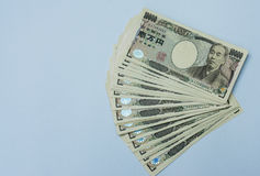 Fattura di Yen giapponesi Immagine Stock