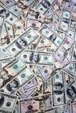 Fatture americane del dollaro Fotografie Stock Libere da Diritti