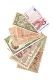 Fatture dei soldi Fotografie Stock