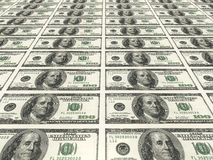 Fatture del dollaro Fotografia Stock Libera da Diritti