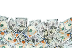 100 fatture del dollaro Fotografia Stock Libera da Diritti