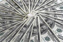 Fatture del dollaro di Hundert Fotografia Stock Libera da Diritti