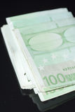 100 fatture dell'euro di hundrd Fotografia Stock