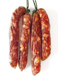 Fatty chinese pork sausages Royalty Free Stock Image
