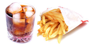 Fatty fast food Royalty Free Stock Photography