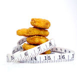 Fatty Foods Pack on the Pounds Stock Photo