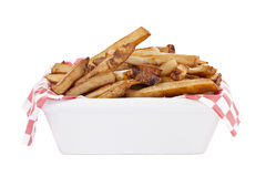 Fatty french fries Royalty Free Stock Photo