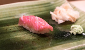 Fatty tuna sushi Stock Images