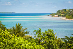 Fatumaru Bay - Port Vila. Magnificent Fatumaru Bay in Port Vila, Efate Island, Vanuatu Royalty Free Stock Photos