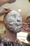 Fatura da máscara da cara fotos de stock royalty free