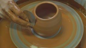 Fatura de bacias da argila vídeos de arquivo