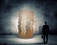 Fatura do dinheiro Imagem de Stock