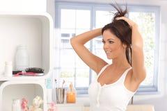 Fatura do nó do cabelo Imagens de Stock Royalty Free