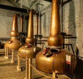 A fatura do uísque de Bourbon imagens de stock royalty free