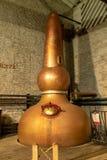 A fatura do uísque de Bourbon fotografia de stock