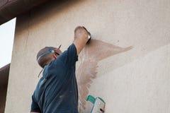 Fatura dos grafittis Foto de Stock