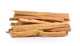 Fatwood on white background Royalty Free Stock Images