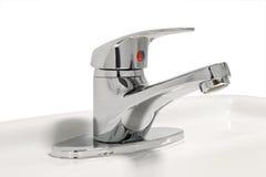 Faucet ванной комнаты стоковое изображение rf