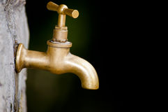 faucet старый Стоковые Изображения