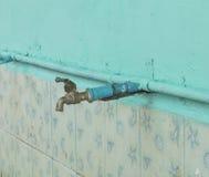 Faucet для rinse, клапана воды Стоковая Фотография RF