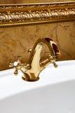 красивейшая вода faucet Стоковое Изображение