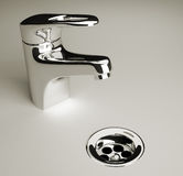 Faucet Royalty Free Stock Photography