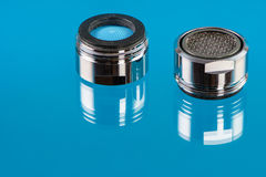 Faucet Aerators Royalty Free Stock Photos
