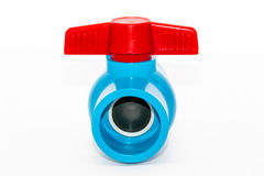 Faucet ball valve on white background. Hydrant ball valve on white background Stock Photography