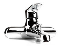 Faucet chrom Obrazy Royalty Free