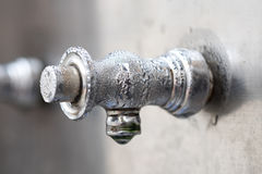 Faucet close up Royalty Free Stock Photo