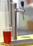 Faucet da cerveja fotografia de stock