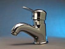 Faucet da torneira do aço de cromo Imagens de Stock