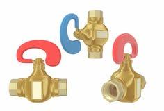 Faucet de água Imagens de Stock