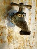 Faucet de água para o jardim Imagem de Stock Royalty Free