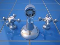 Faucet do gotejamento Imagens de Stock