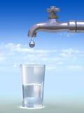 Faucet do gotejamento Imagem de Stock