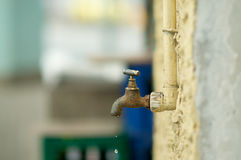 Faucet Drip Royalty Free Stock Image