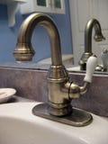 Faucet escovado niquelar Imagem de Stock