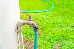 faucet in the garden Stock Photography