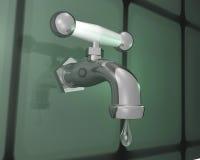 Faucet Leak Royalty Free Stock Image